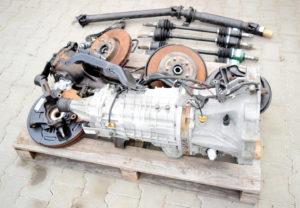 swap skrzyni biegów 6MT z DCCD pochodzący z Subaru Imprezy WRX STI 2009 wersja JDM nr TY856UB1KA