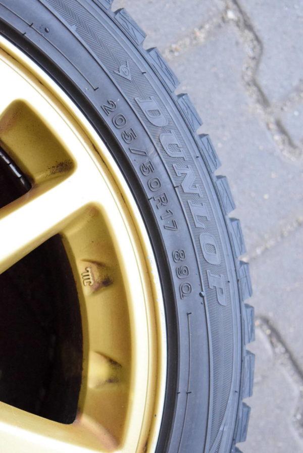 Felgi 17' 5x100 opony Dunlop Subaru Impreza WRX STI 2001-2004