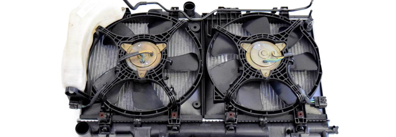 Wentylator prawy Subaru Impreza WRX STI 2000-2002