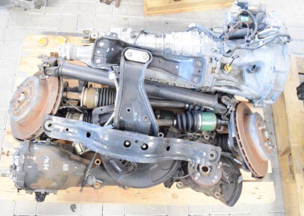 uzywana skrzynia biegow 6MT swap DCCD Subaru Impreza WRX STI 2003 GT 94-00