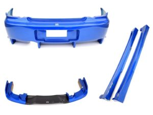 Body kit Subaru Impreza WRX STI 2003-2005 (laminat JDM)
