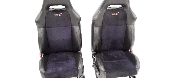 Wnętrze fotele kanapa Subaru Impreza WRX STI A-line 01-07 JDM