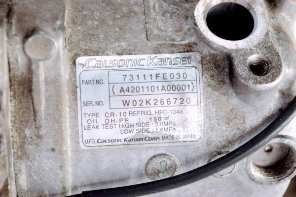 Sprężarka klimatyzacji Subaru Impreza WRX STI 2003-2005