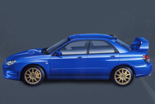 Subaru WRX STI Spec C 2005