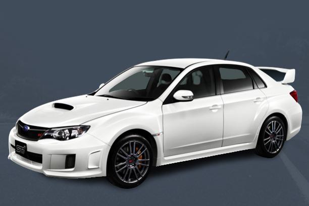Subaru Impreza WRX STI Spec C 2012 sedan