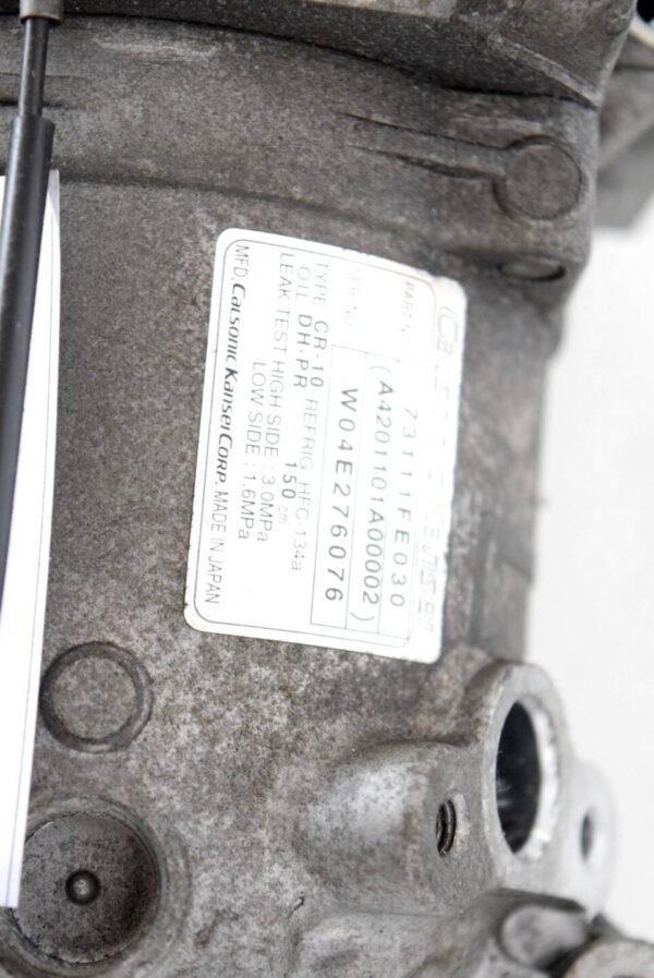 Sprezarka klimatyzacji Subaru Impreza WRX STI 2003