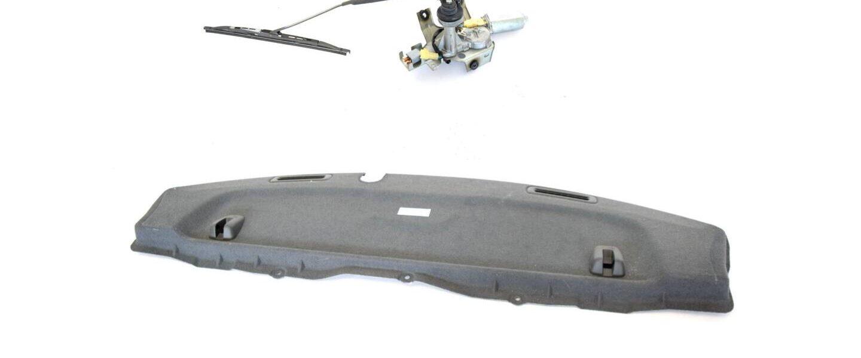 Półka tylna z wycieraczką Subaru Impreza STI 2001-2007 JDM