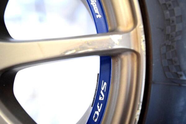 Felgi WedsSport 17' 5x100 opony Subaru Impreza WRX STI 2001-2004