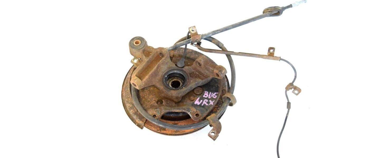 Zwrotnica tylna prawa Subaru Impreza WRX 2001-2004 5x100