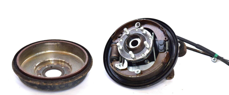 Zwrotnica tylna prawa Subaru Impreza 2001-2007 5x100 bęben