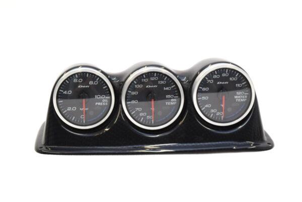 Zegary DEFI kpl z daszkiem Subaru Impreza STI 2001-2007