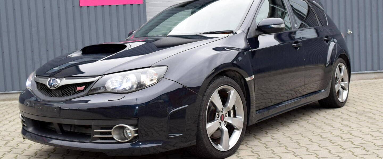 Subaru Impreza WRX STI JDM 2008 twinscroll